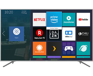 "Hisense BE7400 Serie - H75BE7410, 4K/UHD, LED, Smart TV, 189 cm [75""] mit HDR10, Dolby Vision und DTS Sound - Silber - H75BE7410_SI - 1"