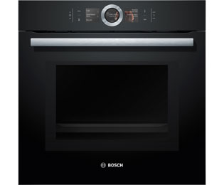 bosch hmg6764b1 serie 8 backofen eingebaut 60cm schwarz neu ebay. Black Bedroom Furniture Sets. Home Design Ideas