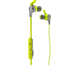 Monster iSport Achieve BT Bluetooth-Sport-Kopfhörer, In Ear, Headset-Funktion - Grün