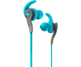 Monster iSport Compete Sport-Kopfhörer, In Ear, Headset-Funktion - Blau