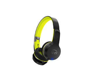Monster iSport Freedom Bluetooth-Sport-Kopfhörer, On-Ear, Headset-Funktion - Schwarz / Grün