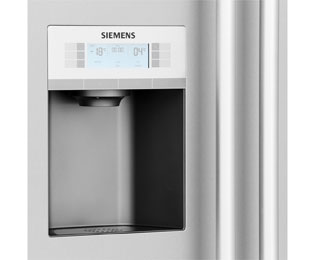 Siemens Kühlschrank Mit Wasserspender : Siemens iq ka dai amerikanischer side by side mit
