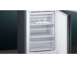 Kühlschrank Schwarz : Siemens iq kg nxx a kühlschrank schwarz edelstahl a