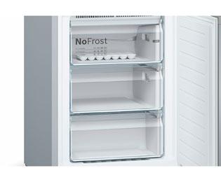 Bosch Kühlschrank Geräusche : Bosch serie kgn kl kühl gefrierkombination mit no frost