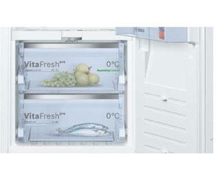 Bosch Kühlschrank Einbau : Bosch serie 8 kif42af30 einbau kühlschrank mit gefrierfach 122er