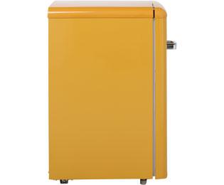 Amica Retro Design Kühlschrank : Amica retro design ks y kühlschrank mit gefrierfach gelb