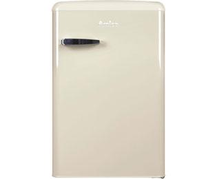 Amica Kühlschrank Birne : Amica vks 15624 s kühlschrank schwarz retro design a