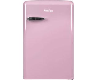 Kühlschrank Pink : Amica retro design ks 15616 p kühlschrank mit gefrierfach pink