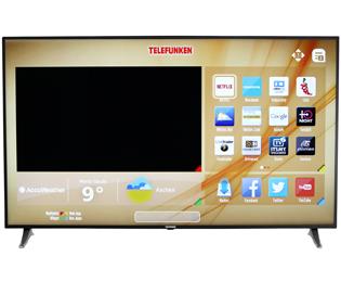 Telefunken L65U249X4CW Fernseher - Schwarz