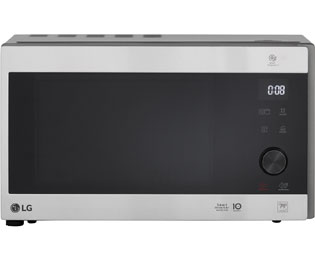LG MH 6565 CPS Mikrowelle mit Grill, 25 Liter - 1000 Watt - Edelstahl - MH 6565 CPS_SS - 1