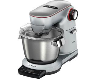 Bosch OptiMUM MUM9YX5S12 Küchenmaschine mit Profi-Patisserie Set und  Thermosafe Mixbehälter - integrierte Waage - 1500 Watt - Edelstahl