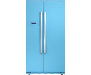 Amerikanischer Kühlschrank Blau : Amerikanischer side by side side by side  breite
