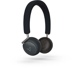 Libratone Q Adapt On-Ear Bluetooth-Kopfhörer, On Ear, Headset-Funktion, Noise Cancelling - Schwarz