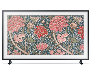 "Samsung The Frame (2019) - QE43LS03RAUXZG, 4K/UHD, QLED, Smart TV, 108 cm [43""] mit Art Mode, Art Store, 100% Farbvolumen, AirPlay 2 und Apple TV - Schwarz - QE43LS03RAUXZG_SEL - 1"