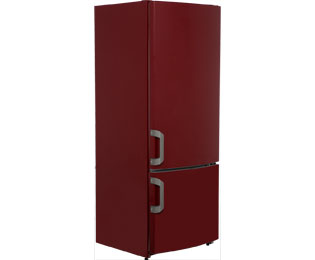 Gorenje Kühlschrank Retro Bedienungsanleitung : Gorenje rk61620r kühl gefrierkombination 60er breite bordeaux rot