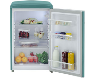 Retro Kühlschrank Grau : Exquisit rks rva kühlschrank grau retro design a