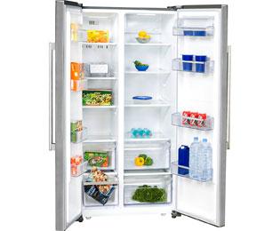 Side By Side Kühlschrank Richtig Einräumen : Exquisit sbs a amerikanischer side by side l