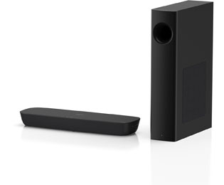 Panasonic SC-HTB254EGK Bluetooth-Soundbar 120 Watt - Schwarz