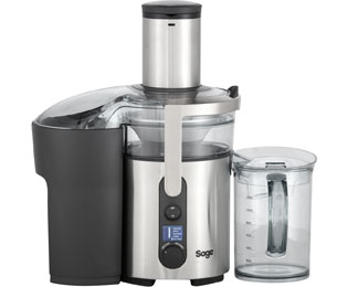 Sage the Nutri Juicer™ Plus SJE520BSS4CEU1 Entsafter mit Froojie™ disc und Nutri-disc™ - Edelstahl