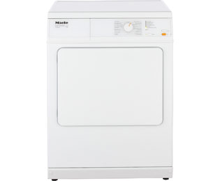 Miele T 8703 Ablufttrockner - 7 kg, Weiß - T 8703_WH - 1