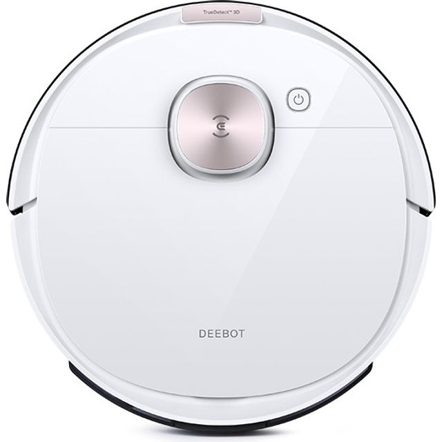Ecovacs Deebot Ozmo DEEBOT OZMO T8 Saugroboter mit TrueDetect 3D-Technologie - Weiß