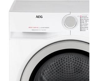 Aeg lavatherm t dba wärmepumpentrockner kg weiß a