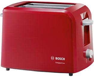Bosch TAT3A014 Wasserkocher & Toaster - Rot