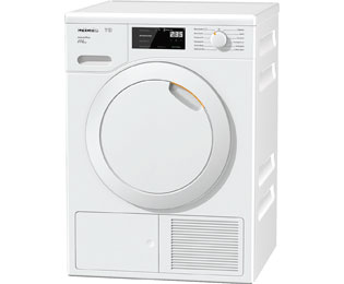 Miele TCE520 WP Wärmepumpentrockner - 8 kg, Weiß, A+++ - TCE520 WP_WH - 1