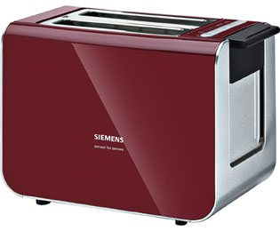Siemens TT86104 Wasserkocher & Toaster - Rot