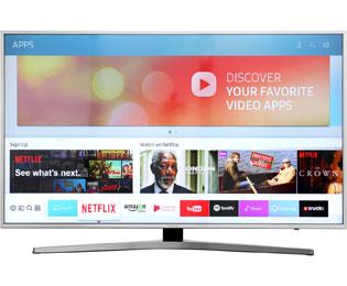 Samsung 6er Serie UE49MU6409UXZG Fernseher - Silber