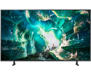 "Samsung RU8009 (2019) - UE55RU8009UXZG, 4K/UHD, LED, Smart TV, 138 cm [55""] mit HDR10+, AirPlay2, Apple TV und Bixby Sprachsteuerung - Titangrau - UE55RU8009UXZG_TGY - 1"
