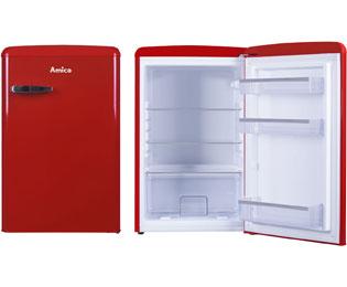 Amica Kühlschrank Blau : Amica vks 15626 l kühlschrank blau retro design a