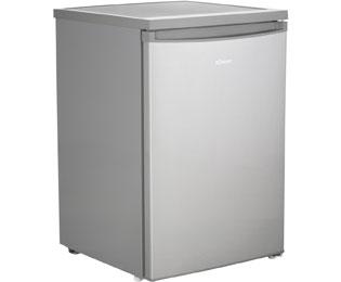 Bomann VS 2185 Kühlschränke Edelstahl Optik
