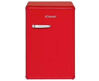 Bomann Kühlschrank Mit Gefrierfach Ks 2194 : Bomann vsr kühlschrank rot a