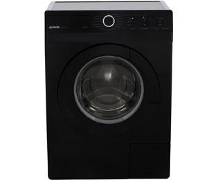 gorenje w6222pb s waschmaschine schwarz 6 kg 1200 u min a. Black Bedroom Furniture Sets. Home Design Ideas