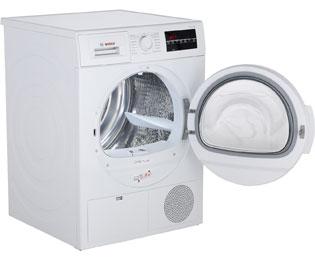 Bosch serie 6 wtg86400 kondenstrockner 8 kg weiß