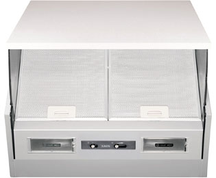 aeg x56342se10 dunstabzugshaube eingebaut 60cm grau neu ebay. Black Bedroom Furniture Sets. Home Design Ideas
