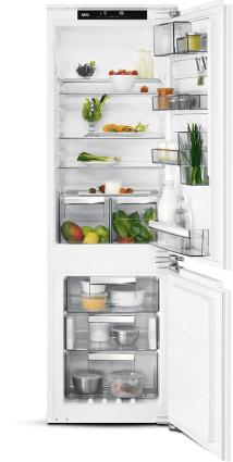 AEG SCE8182VNC Fridge Freezer - White