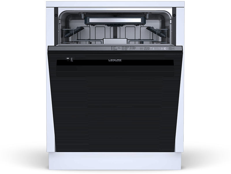 Built-under dishwasher