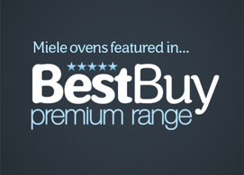 Miele ovens featured in 'Best Buy' premium range