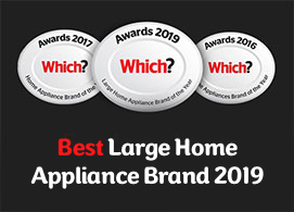 Which? Best large home appliance brand 2019