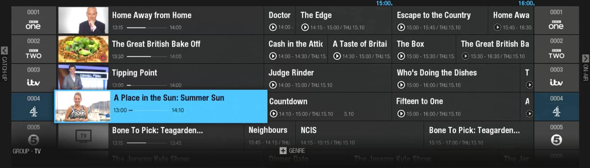 freeview tv guide for sydney