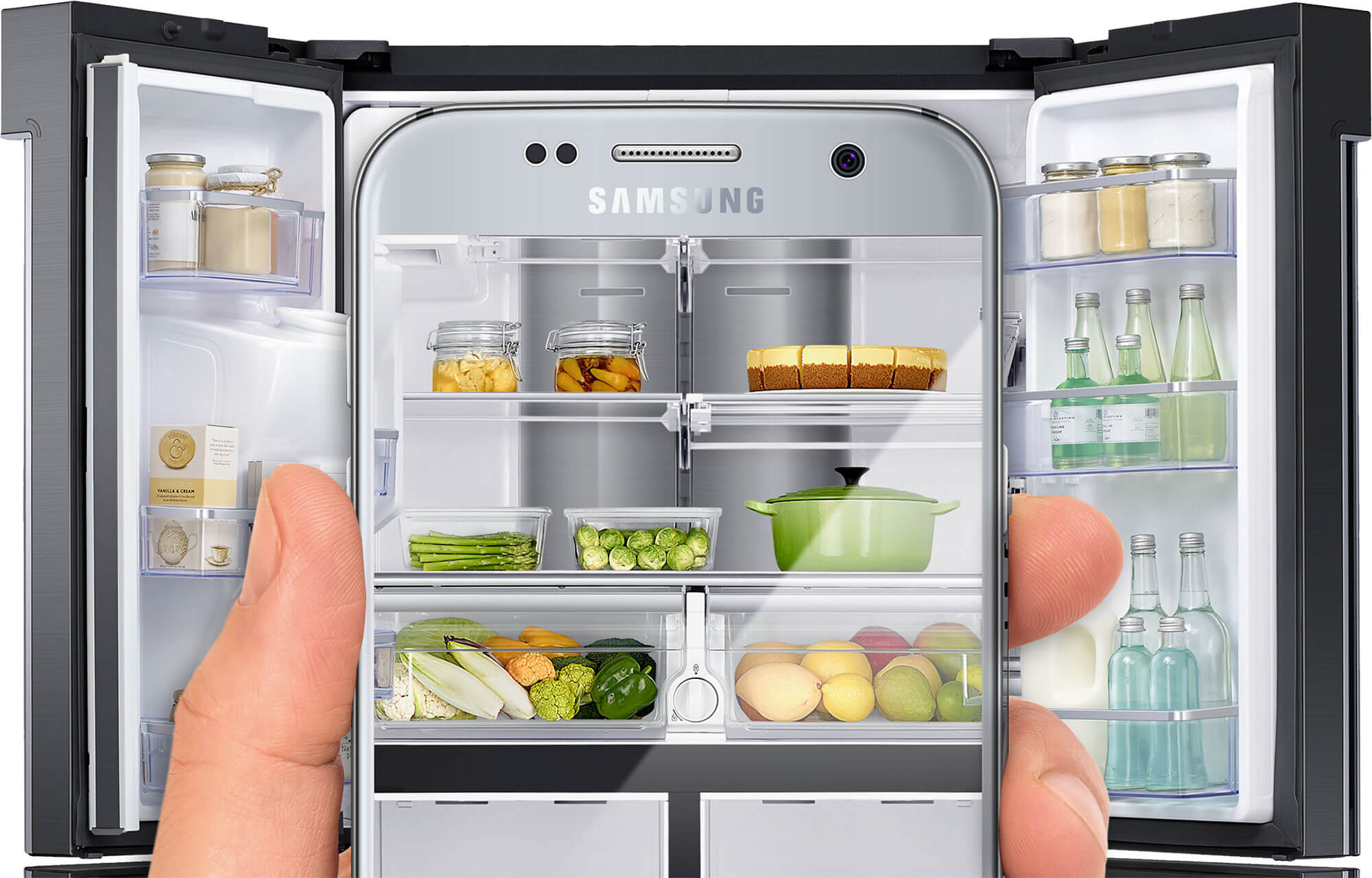 Manage your fridge on the go
