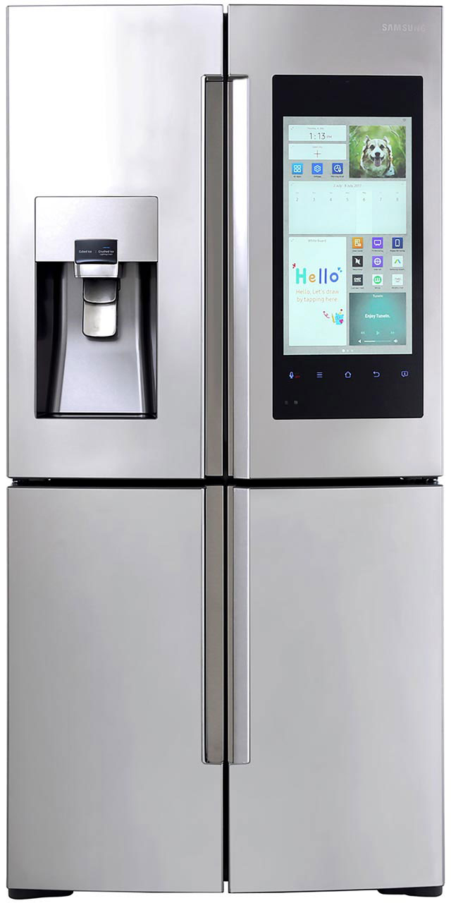 Samsung Family Hub™ RF56K9540SR American Fridge Freezer - Stainless Steel