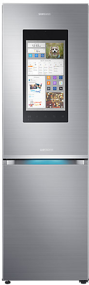 Samsung Family Hub™ RB38M7998S4 60/40 Frost Free Fridge Freezer - Stainless Steel
