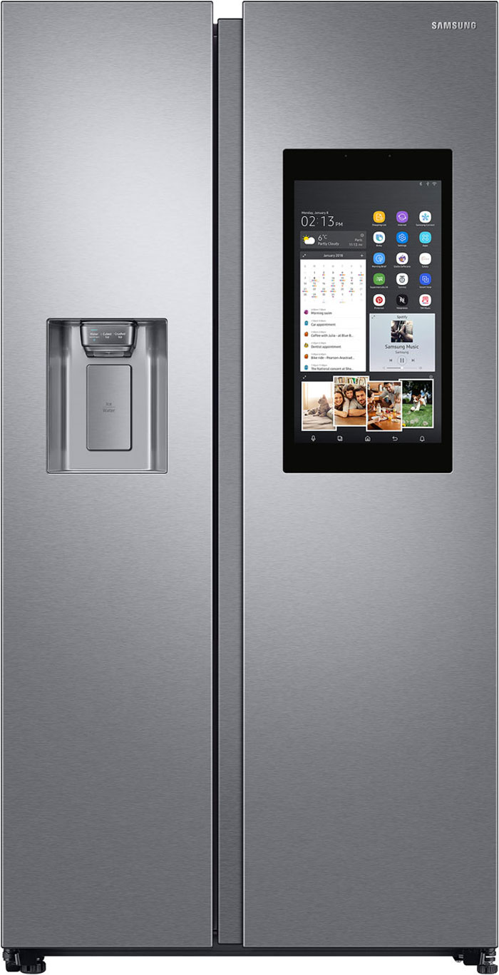 Samsung Family Hub™ RS68N8941SL American Fridge Freezer