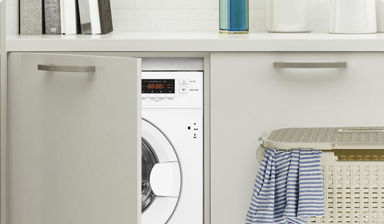 Stoves built-in washing machine