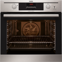 AEG steam oven