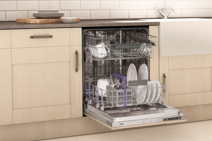 Beko appliances for built-in kitchens available at ao.com