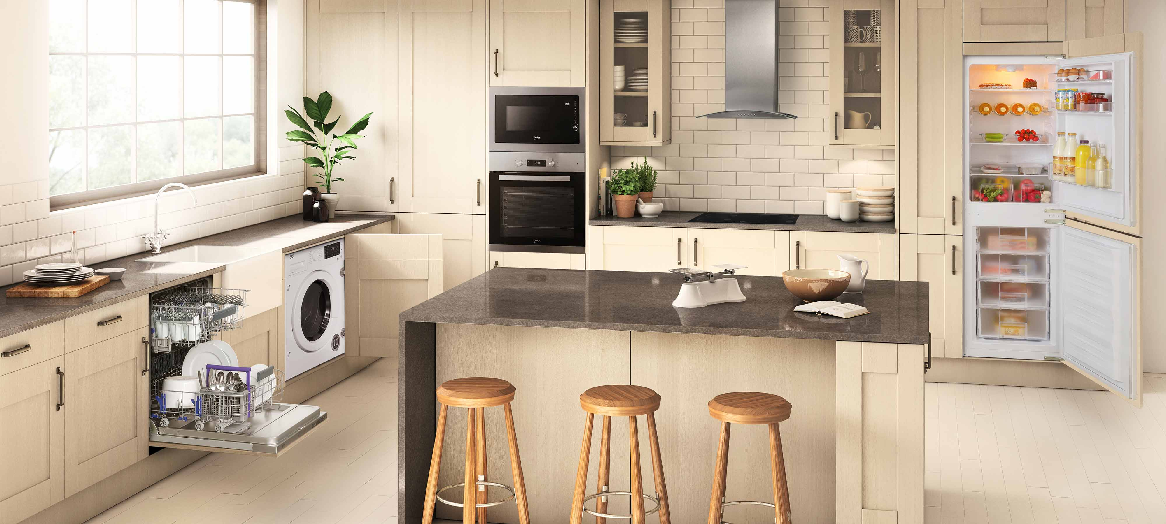 beko built in family kitchens available at ao com beko appliances from ao com  rh   ao com